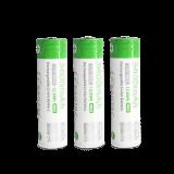 3 x EAGTAC 3.7V li-ion rechargeable batteries